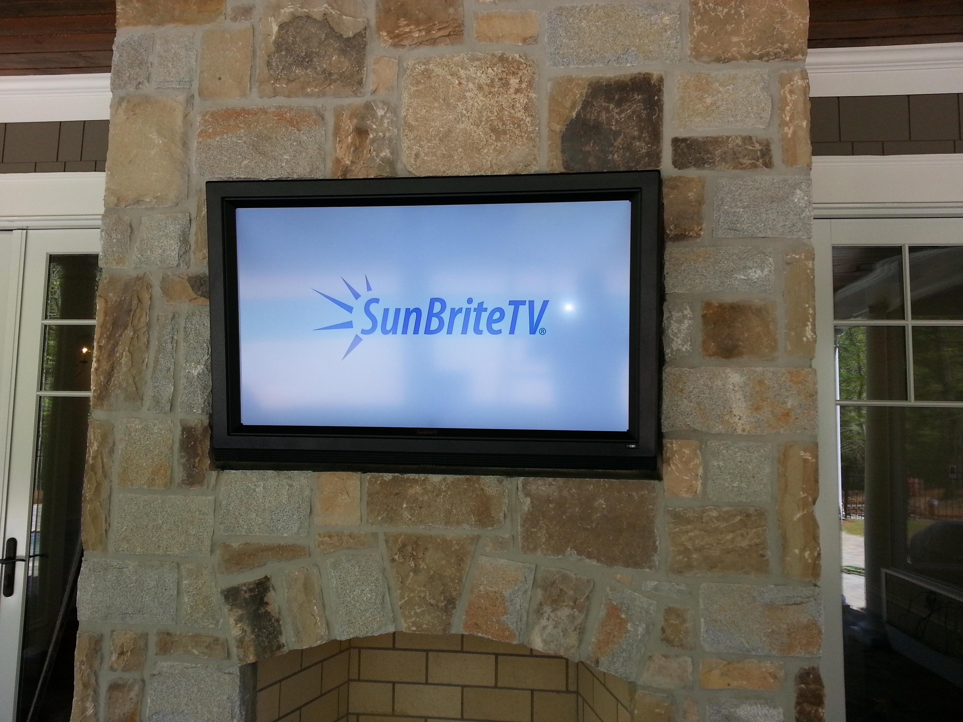 Sunbrite TV install