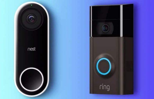 NEST vs Ring Doorbell