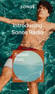 Sonos Radio Source